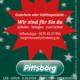 Wir sind für Sie da – Plakat Corona-Weihnachten